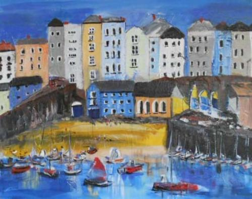 Tenby 50x40 cms SOLD
