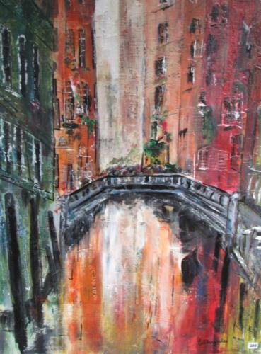 Venice mixed media unframed £110 80x60cm
